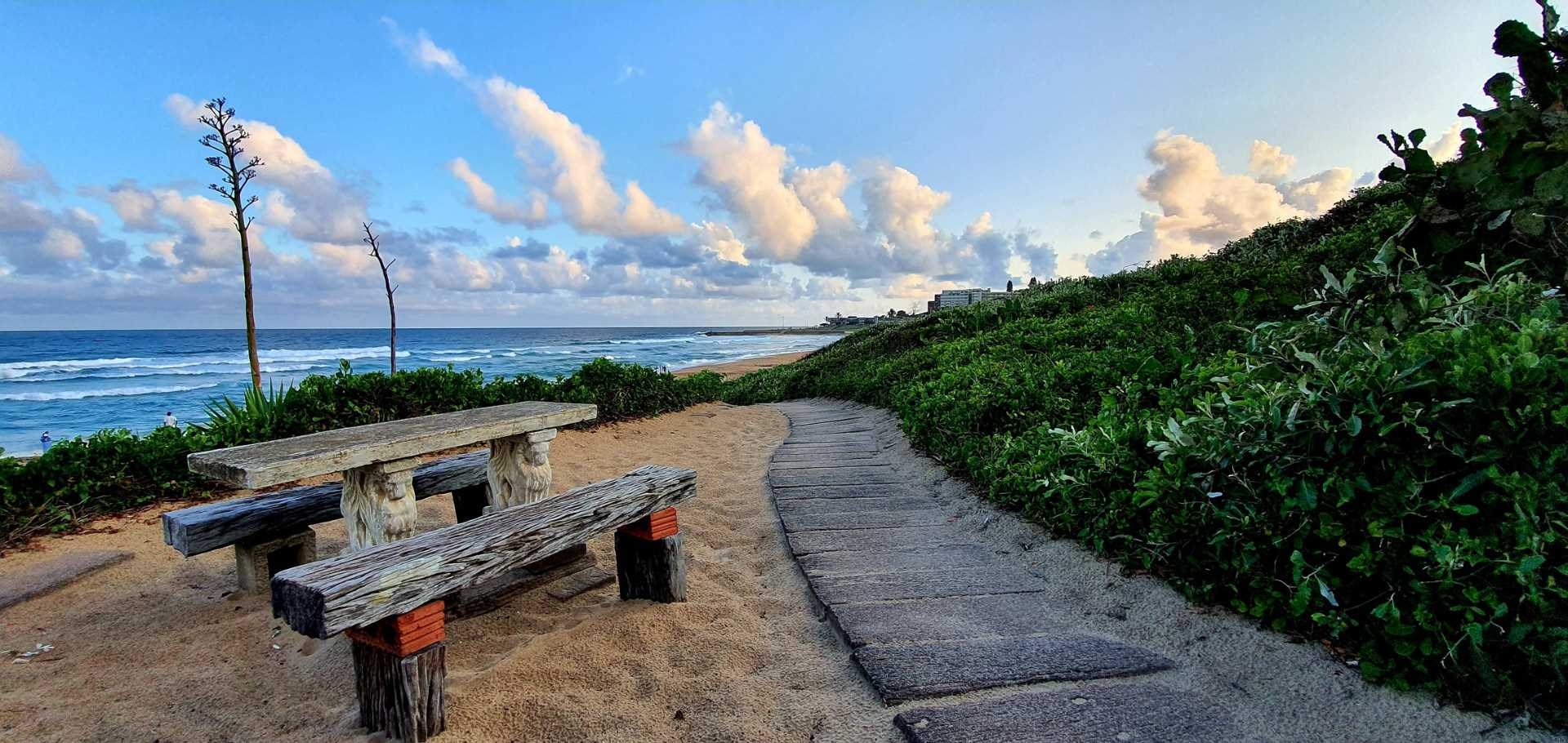 Coastal living with uninterrupted sea views
