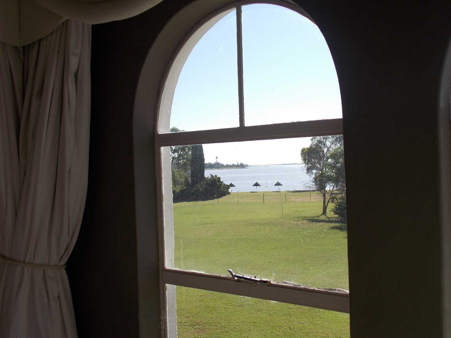 View from the main bedroom