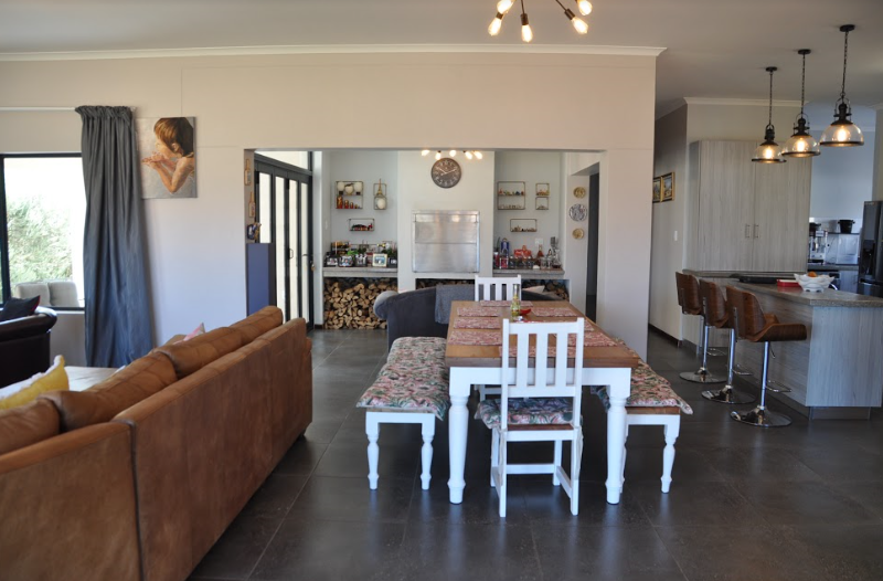 Open Plan Living Areas and Braai Room
